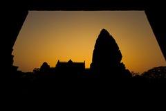古老废墟在东北泰国 库存图片