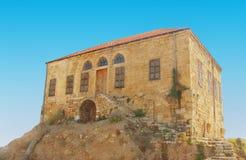 古老废墟朱拜勒黎巴嫩 图库摄影
