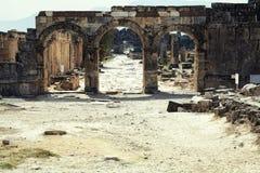 古老废墟 库存照片