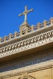 古老建筑装饰 库存图片