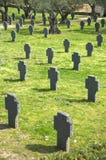 古老德国墓地在caceres 库存照片