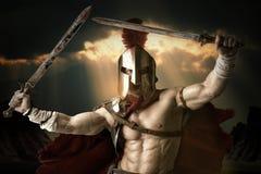 古老战士或争论者 免版税库存照片