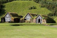 古老房子在冰岛。 免版税库存图片