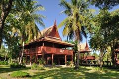 古老房子泰国 免版税库存图片