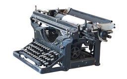 古老打字机 免版税库存照片