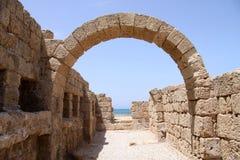 古老拱廊 免版税图库摄影