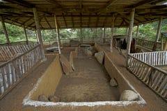 古老掩埋处在哥伦比亚 免版税库存图片