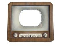 古老收音机 免版税库存图片