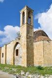 古老教会在塞浦路斯 库存照片