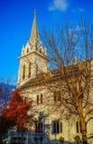 古老教会在奥克兰,新西兰 免版税库存图片