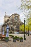 古老教会在德累斯顿的市中心在德国 库存照片