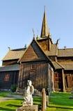 古老教会挪威 库存图片