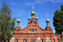 古老教会的圆顶 图库摄影
