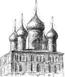 古老教会 免版税库存照片