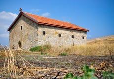 古老教会feodosiya 免版税库存照片