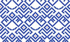 古老斯拉夫的护身符 针线的计划 皇族释放例证