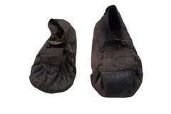 古老日本鞋子 免版税库存照片