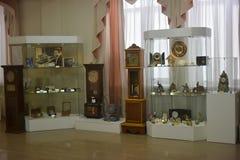 古老时钟的博物馆 库存图片