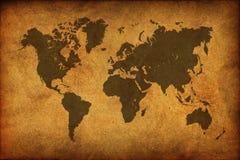 古老映射世界 库存图片
