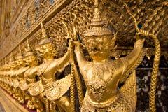 古老曼谷宫殿 免版税库存图片