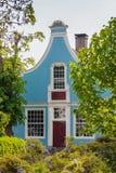 古老有历史的荷兰语房子在Broek在Waterland 库存图片