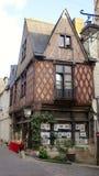 古老木屋在法国 免版税库存图片