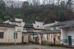 古老村庄在浙江,中国 免版税库存照片