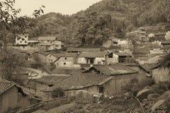 古老村庄 库存照片