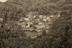 古老村庄 免版税库存照片