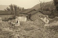 古老村庄 库存图片