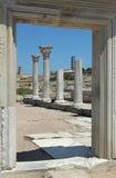 古老柱廊khersones 图库摄影