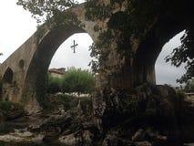 古老桥梁 免版税图库摄影