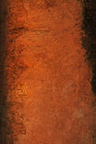 古老棕色墙壁 库存图片