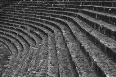 古老楼梯,雅典,希腊 免版税库存照片