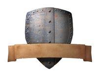 古老横幅盾 皇族释放例证