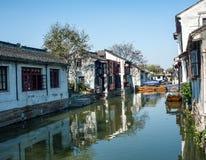 古老水城镇 免版税图库摄影