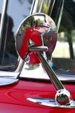 古老汽车镜子 图库摄影