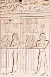 古老浮雕象 免版税库存照片