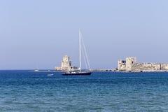 古老海边堡垒 免版税库存图片
