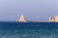 古老海边堡垒 库存图片