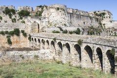 古老海边堡垒 库存照片