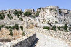 古老海边堡垒 图库摄影
