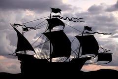 古老海运船 库存例证