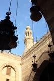 古老清真寺在埃及 免版税库存照片