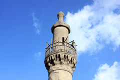 古老清真寺在埃及 免版税图库摄影