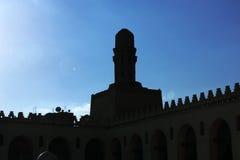 古老清真寺在埃及 库存照片