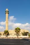 古老清真寺在以色列市贾法角 免版税库存照片