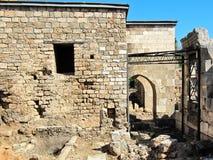 古老清真寺废墟 库存图片