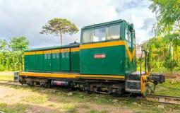 古老火车站是著名地方 库存图片