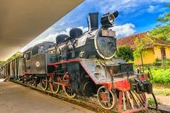 古老火车站是著名地方 库存照片